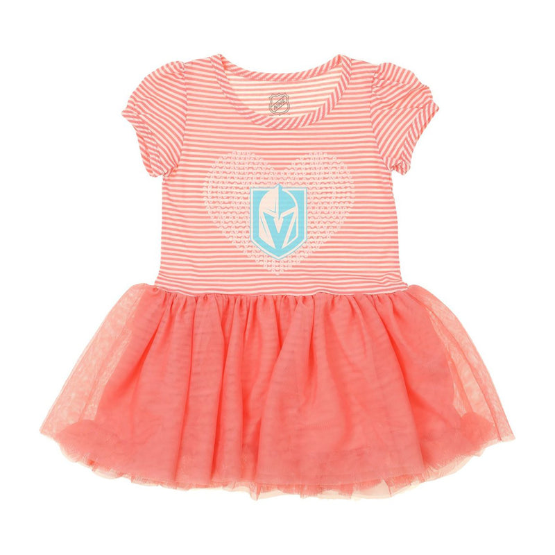 Vegas Golden Knights Outerstuff Toddler Girls Ice Queen Tutu Dress - VegasTeamStore