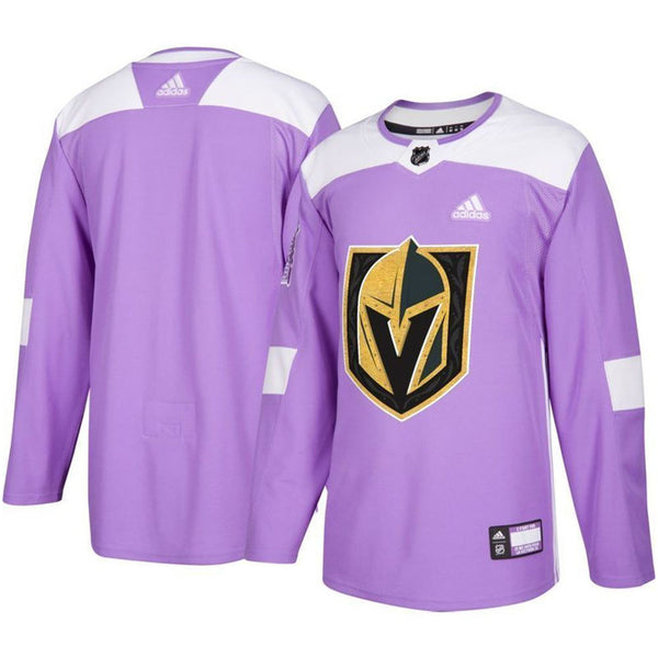 Vegas Golden Knights adidas 2018-2019 Hockey Fights Cancer Jersey