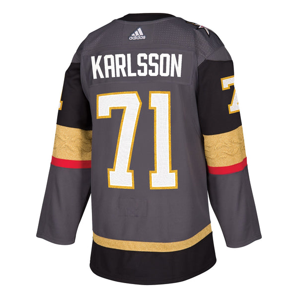 Vegas Golden Knights - William Karlsson #71 Player Jersey - VegasTeamStore