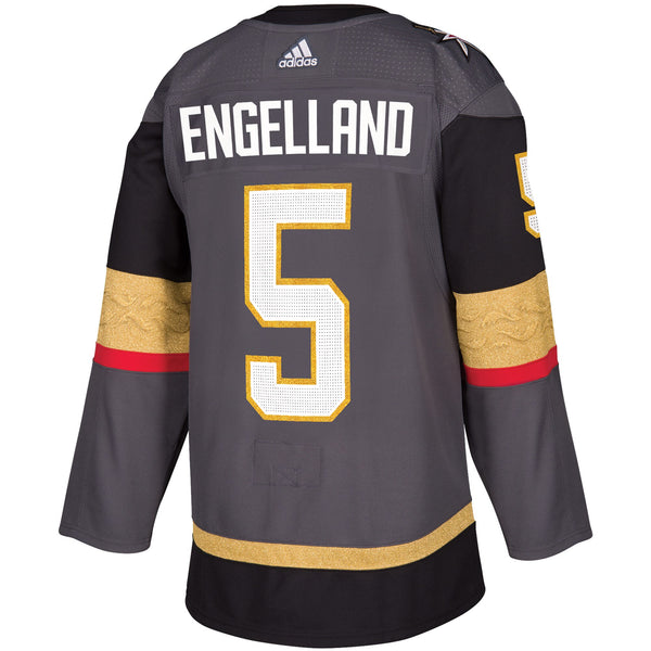 Vegas Golden Knights Deryk Engelland #5 Player Jersey - VegasTeamStore