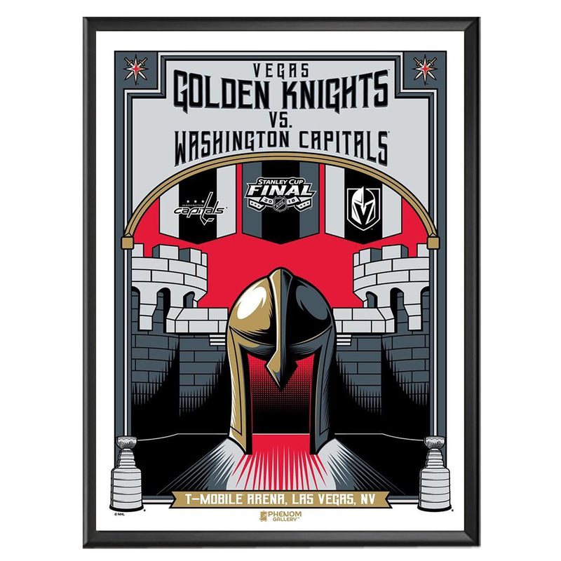 Vegas Golden Knights Phenom Gallery 18x24 Round 4 Serigraph