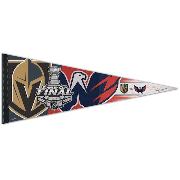 Vegas Golden Knights 2018 Stanley Cup Final 12x30 Premium Pennant