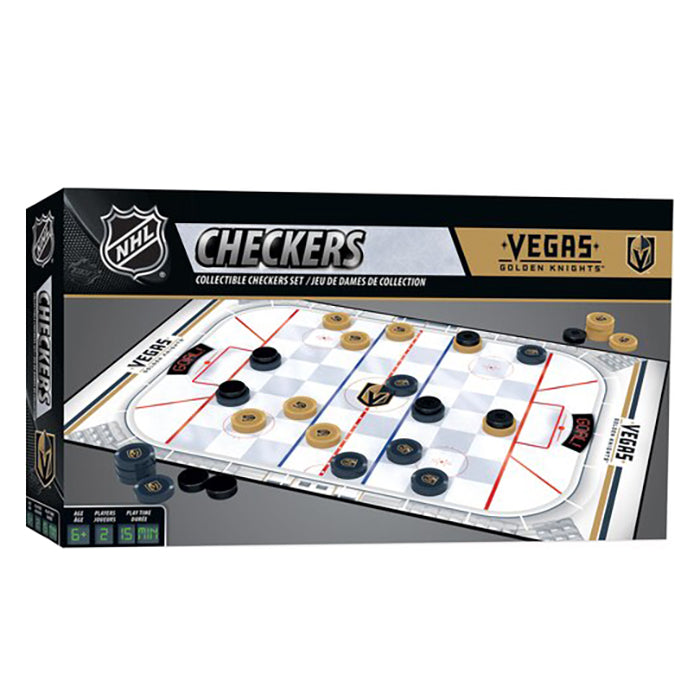 Vegas Golden Knights Team Checkers - VegasTeamStore