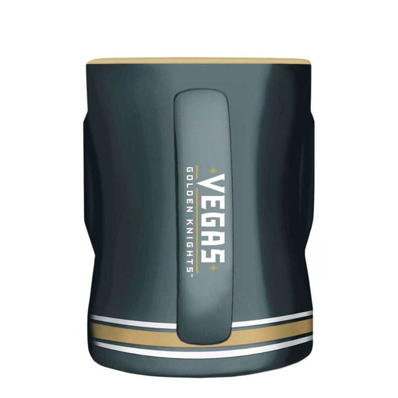 Vegas Golden Knights 14 oz. Primary Sculpted Relief Mug - VegasTeamStore