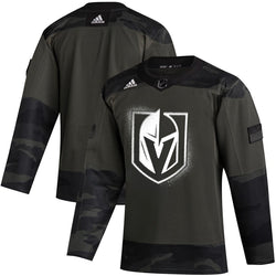 Vegas Golden Knights adidas 2019-20 Authentic Military Jersey