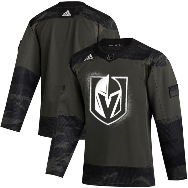 "Vegas Golden Knights ""Military Appreciation"" Warm-Up Jersey - VegasTeamStore"
