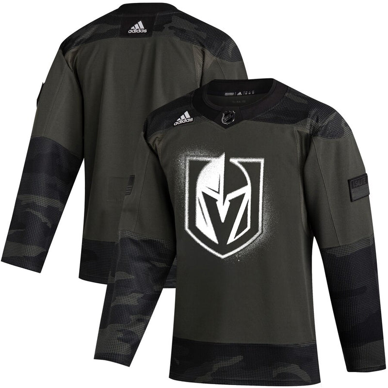 "Vegas Golden Knights ""Military Appreciation"" Warm-Up Jersey 2019-20 - VegasTeamStore"