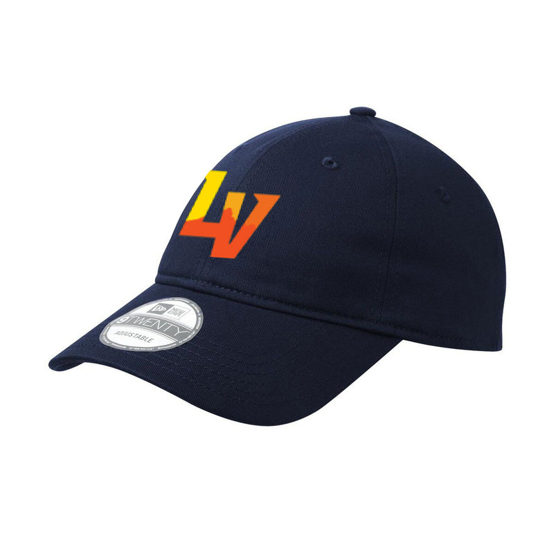 Vegas Aviators New Era 9TWENTY Adjustable Slouch Cap - Navy - VegasTeamStore