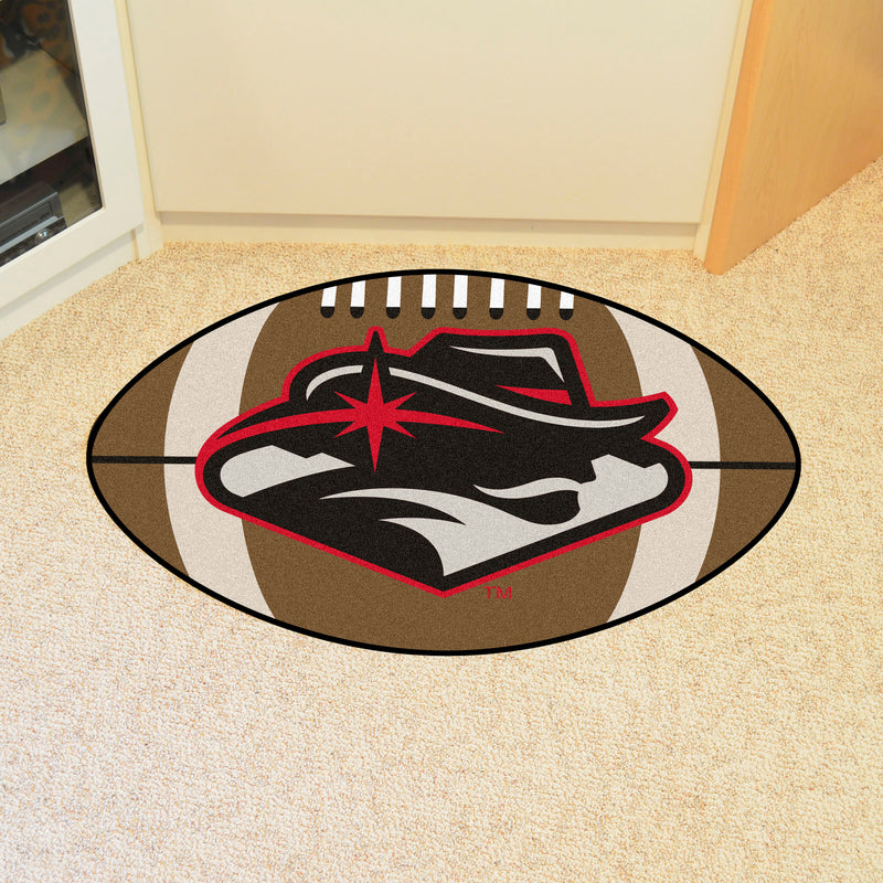 UNLV Fanmats Football Rounded Mat 27 inch diameter