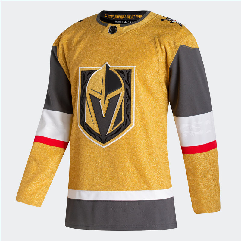 Vegas Golden Knights Alternate Jersey Gold