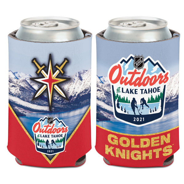 Vegas Golden Knights NHL Outdoors at Lake Tahoe Can Cooler 2-Pack