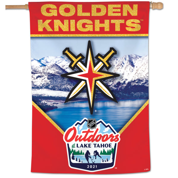 Vegas Golden Knights NHL Outdoors at Lake Tahoe Banner 28x40
