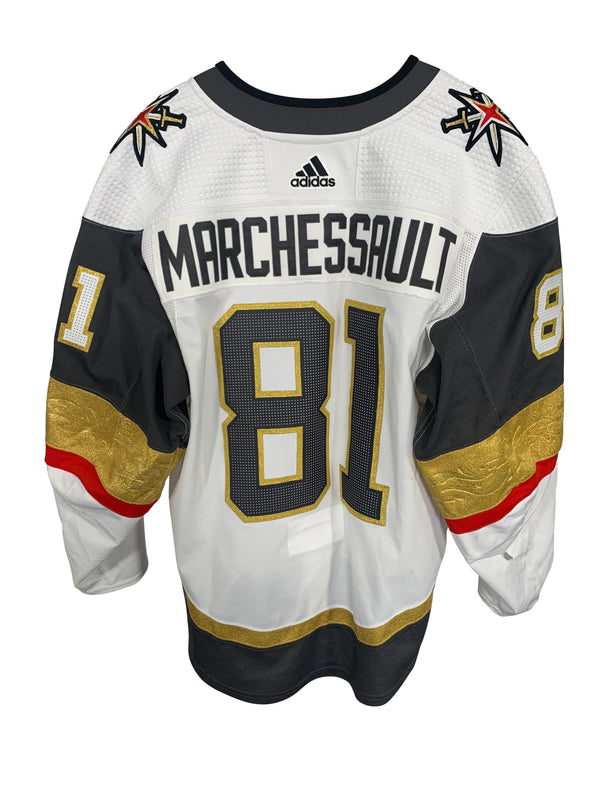 Jonathan Marchessault #81: Game-Worn Away Jersey, 2020 Stanley Cup Playoffs