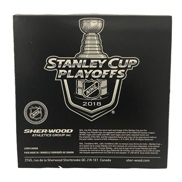 2018 Western Conference Final Official Game Puck - VegasTeamStore