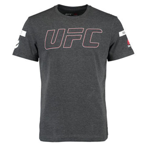 UFC Men's Black UFAN Tri-blend Crew Tee