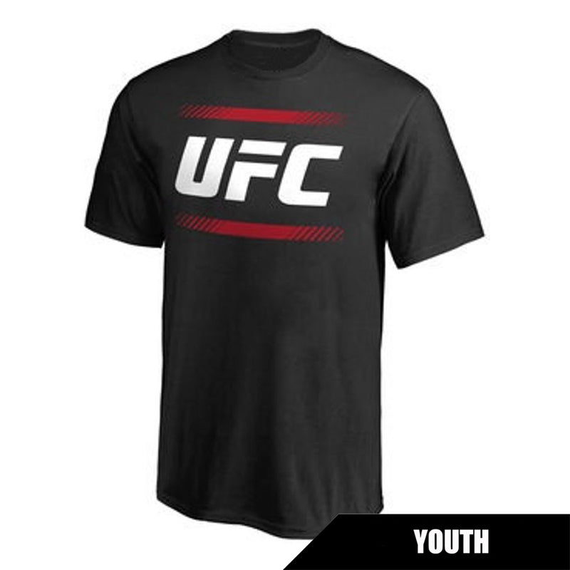 UFC Youth Black Country Bars Crew Tee