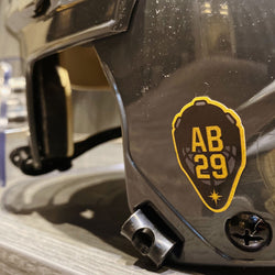Las Vegas Golden Knights Alex Bush 'AB29' Charity Sticker Set