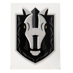 "Henderson Silver Knights Window Cling 4"" - VegasTeamStore"