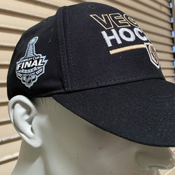 Vegas Golden Knights Stanley Cup Final 2018 Locker Room Hat by adidas - VegasTeamStore
