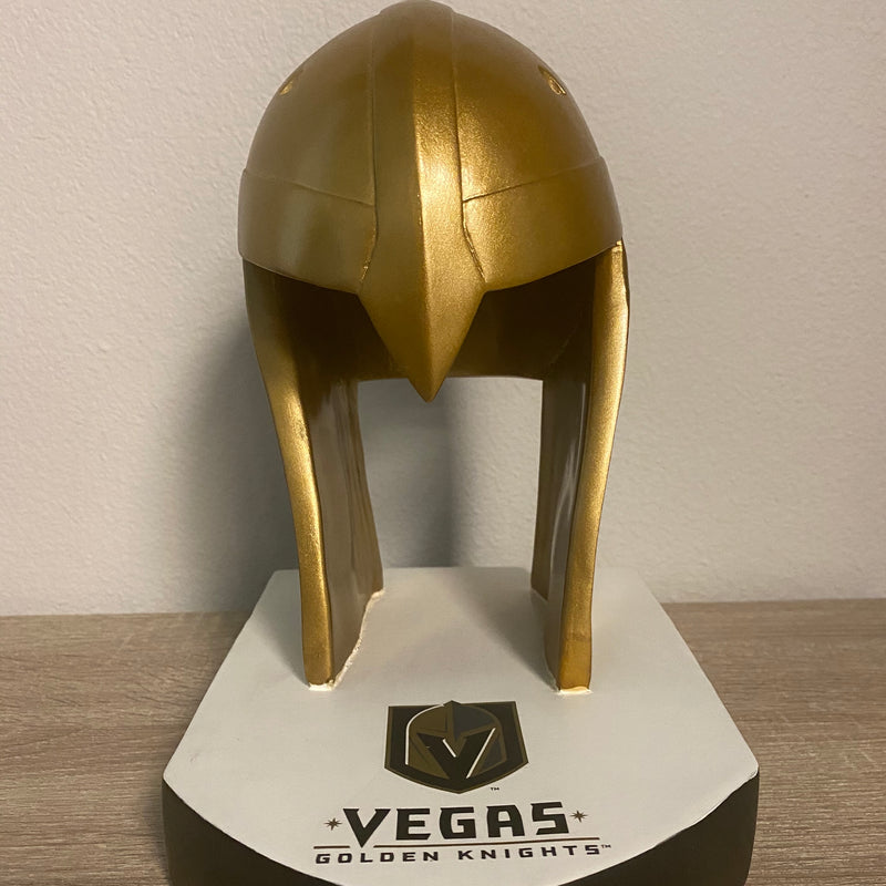 VGK LIGHT UP HELMET STATUE