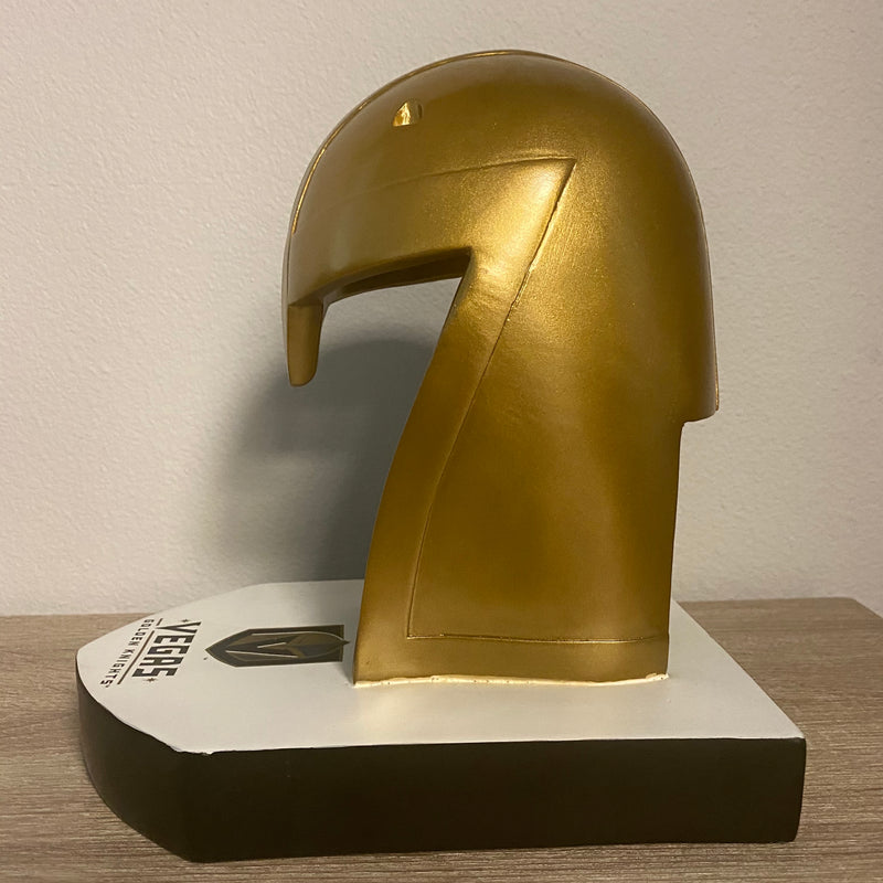 VGK LIGHT UP HELMET STATUE - VegasTeamStore