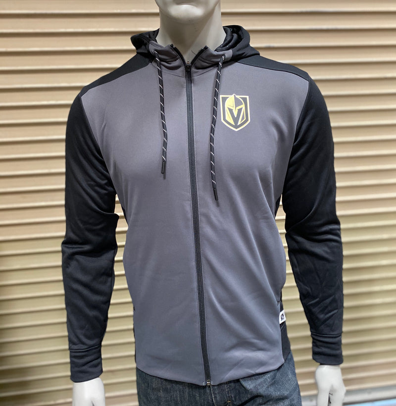 adidas VGK Full Zip Active Sweatshirt - VegasTeamStore
