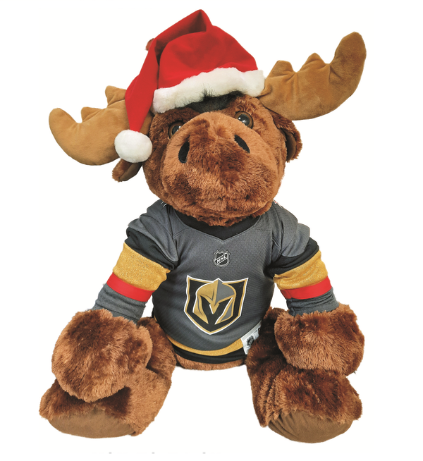 "Vegas Golden Knights 30"" Holiday Moose"