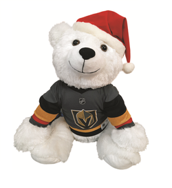 "Vegas Golden Knights 30"" Holiday Polar Bear"