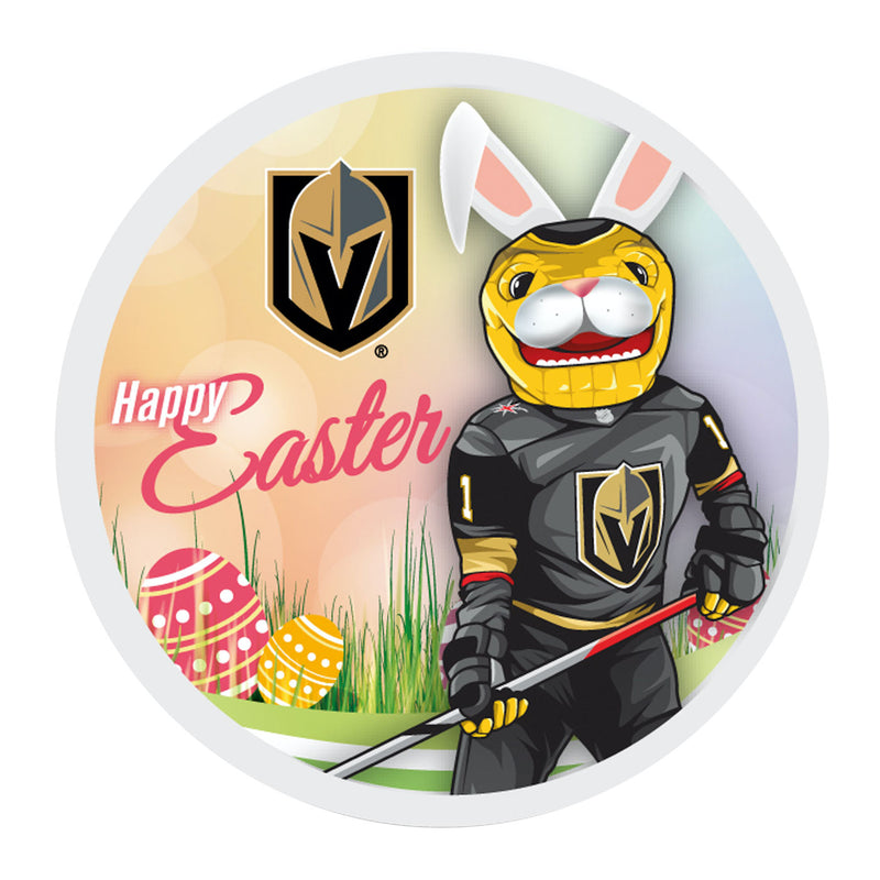 Vegas Golden Knights Happy Easter Souvenir Puck - VegasTeamStore