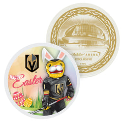 Vegas Golden Knights Happy Easter Souvenir Puck