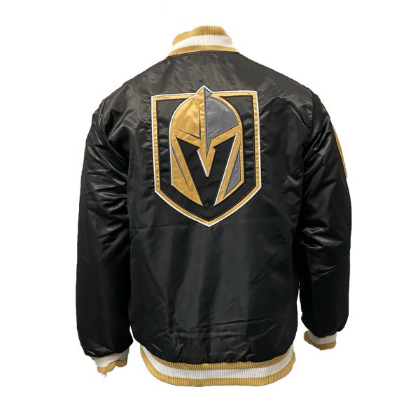 Vegas Golden Knights Starter Mens O-Line - Black/Gold