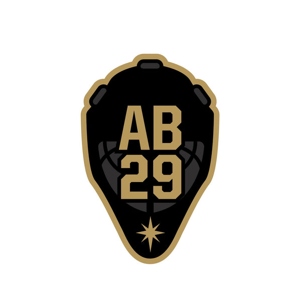 VGK Foundation Alex Bush 'AB29' Charity Sticker Set - VegasTeamStore