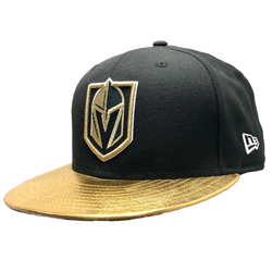 VGK METALLIC GOLD BRIM 59FIFTY FITTED HAT