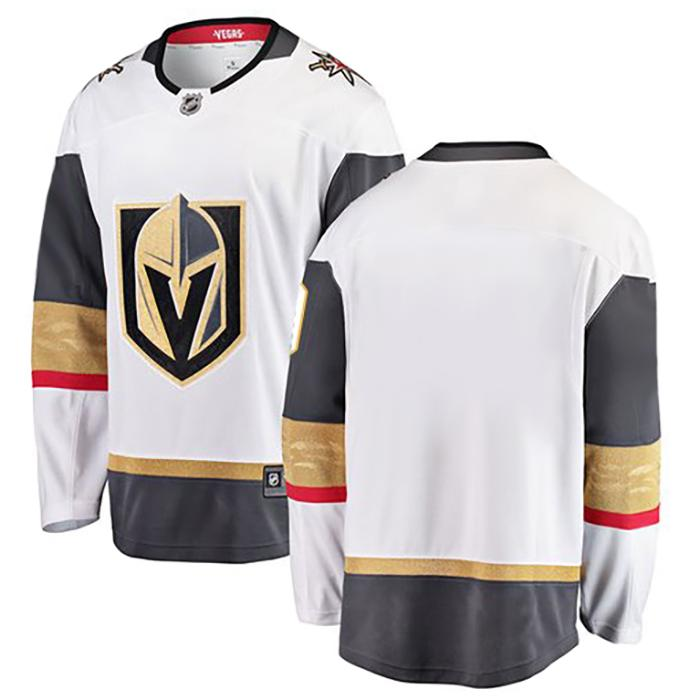 Vegas Golden Knights Childrens Away Replica Jersey - White