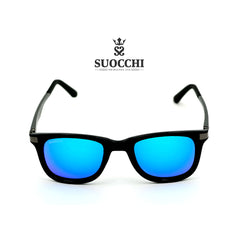 SUOCCHI Alpha Black And Aqua Blue Edition