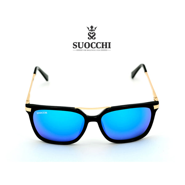 SUOCCHI Crystal Gold And Aqua  Blue Edition