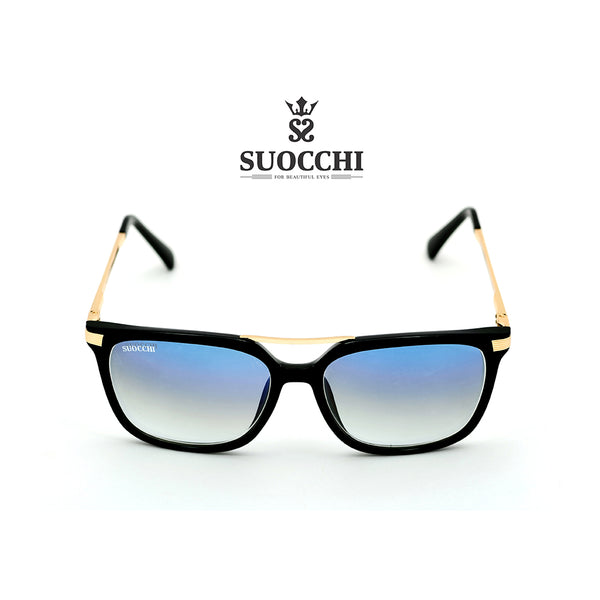 SUOCCHI Crystal Gold And Blue Gradient Edition