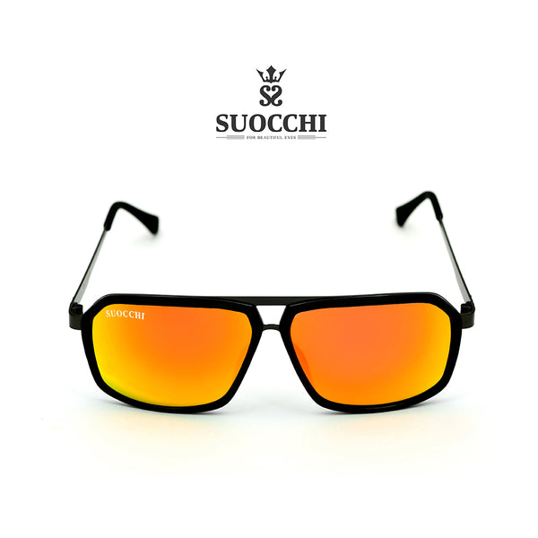 SUOCCHI Hexagon Black And Orange Edition