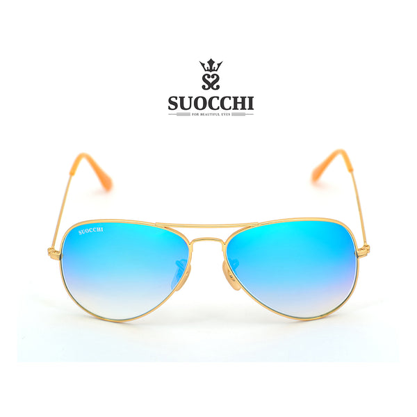 SUOCCHI Hellcat Gold And Aqua Blue Mercury Edition