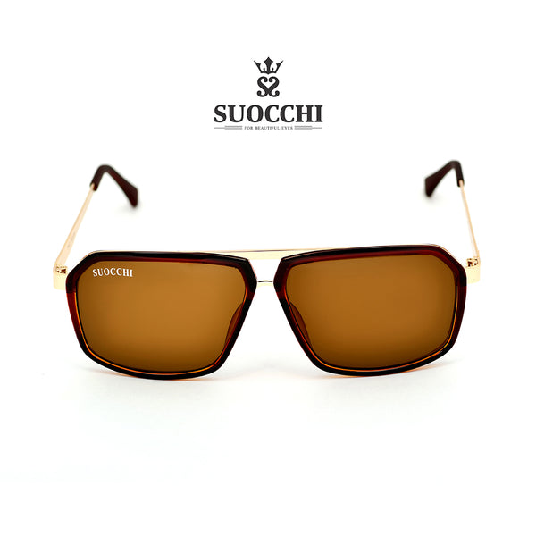 SUOCCHI Hexagon Gold And Brown Edition