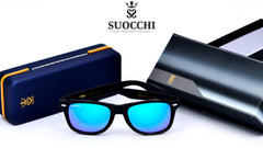 SUOCCHI Elite Black And Aqua Blue Edition - Suocchi