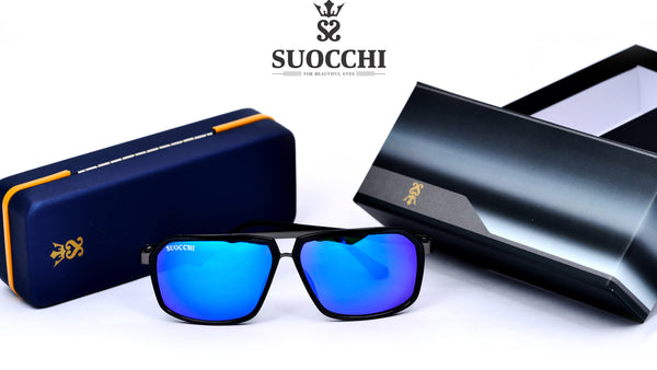 SUOCCHI Hexagon Black And Blue Edition - Suocchi