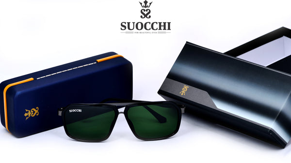 SUOCCHI Hexagon Black And Green Edition