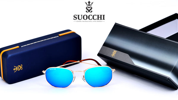 SUOCCHI Royal Gold And Aqua Blue  Edition - Suocchi