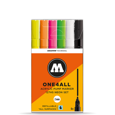 Molotow One 4 All 127HS Neon Set
