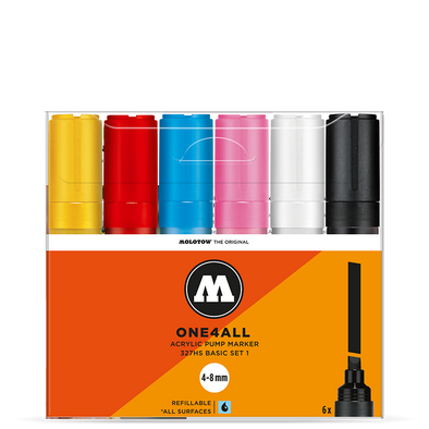 Molotow One 4 All 327HS Basic Set 1