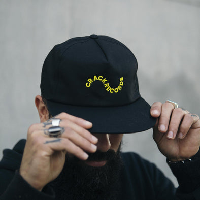 5 Panel Snapback - Crack Records - Crack Kids Lisboa