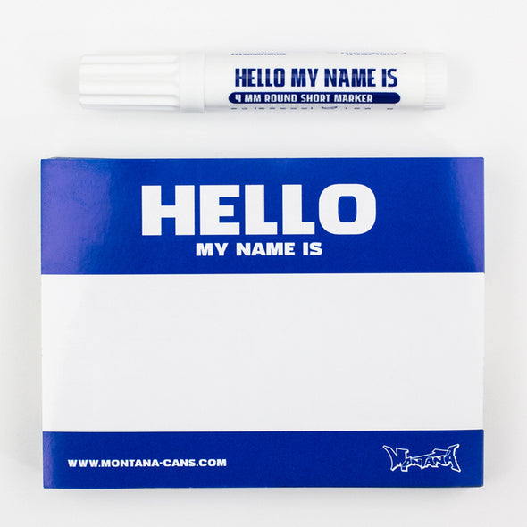 Hello my name is... Sticker Pack - Crack Kids Lisboa