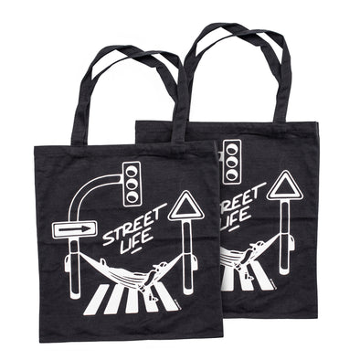 "Montana Cans ""Street Life"" Cotton Bag - Crack Kids Lisboa"