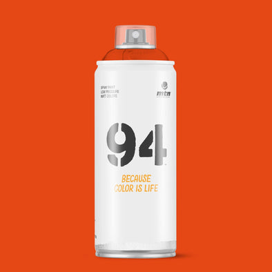 MTN 94 RV-107 Naranja Marte 400ml - Crack Kids Lisboa